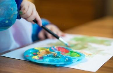 L'importanza della pittura nei ragazzi